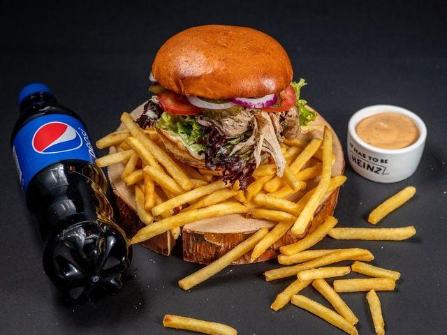 Zestaw Burger Szarpany