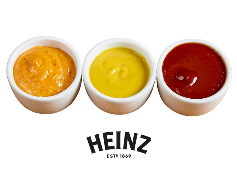 Zestaw 3 Sosów Heinz do Wyboru