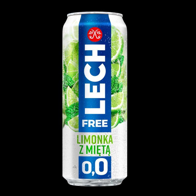 Lech Free 0,0% Limonka z miętą